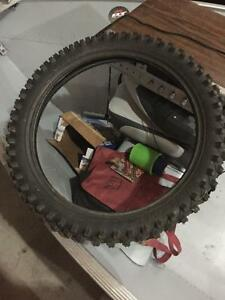 Never used front dirt bike tire
