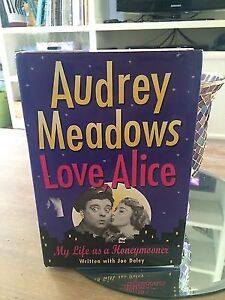 audrey meadows the honeymooners signed book