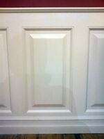 Do-it-yourself wainscot