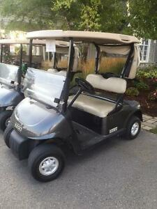 2009 EZGO RXV Charcoal Grey 48V Electric Golf Cart Kitchener / Waterloo Kitchener Area image 1