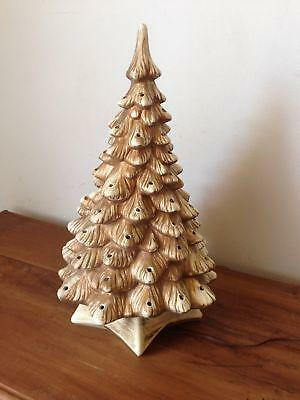 White Ceramic Christmas Tree Ebay