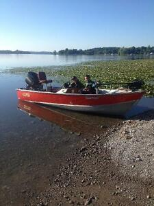 Lund 16.5 ft Mr. Pike Aluminum boat