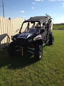 Polaris 4 Seater RZR Robby Gordon Edition