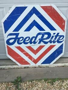 Vintage FeedRite Sign Regina Regina Area image 1