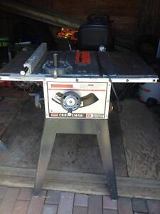 9 inch Sears Table Saw with stand