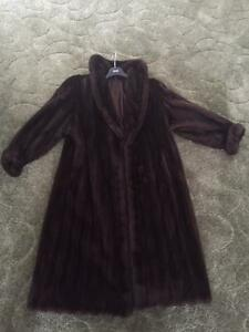 Manteau Black diamond mink à vendre