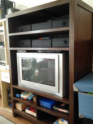 Endo mueble tv comedor de teka tv sony trinitron - Muebles teka barcelona ...