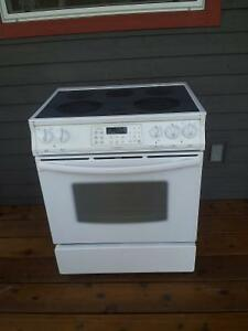 Fridgidaire slide in convection stove