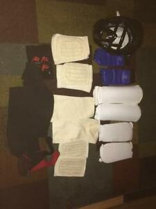 Sparring Helmet and pads