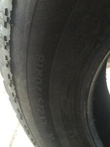 Trail Cutter Winter Tires for sale-LT275/70R18 London Ontario image 3
