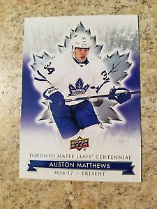 Maple Leaf Centennial Hockey Cards