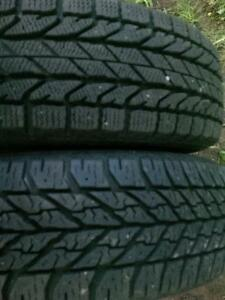 2-Like New -185/70/15+ Tires