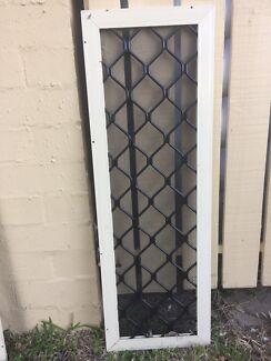 Intruder Guard Primrose Diamond Security Grill for Toilet Window