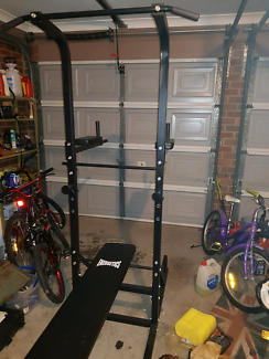 Wanted: Weights and exercise station
