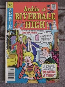 Three Comics from Archie At Riverdale High