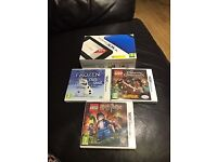 Nintendo 3ds xl 3 games boxed