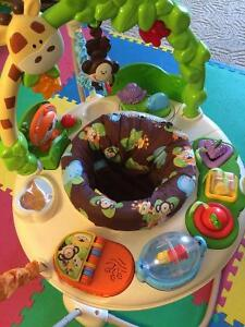 Fisher Price jungle theme jumper