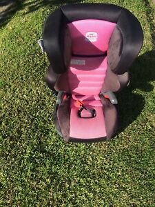 Pink and black booster seat Cabramatta West Fairfield Area Preview