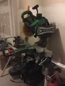 Hitachi Mitre Saw with Stand