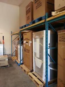 Warehouse shelving - must be removed by tomorrow