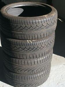 Continental ExtremeContact DWS  205 45 17- (4) used tires