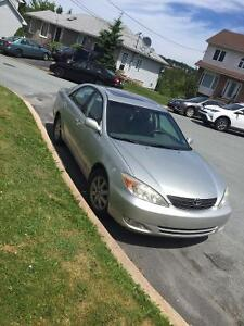 2003 Toyota Camry XLE - Only 78Kms, Safety to Mar '17, Leather