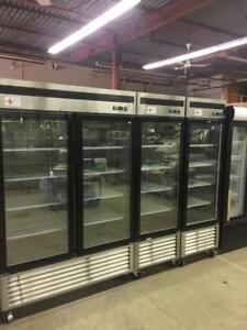brand new and used coolers and freezers
