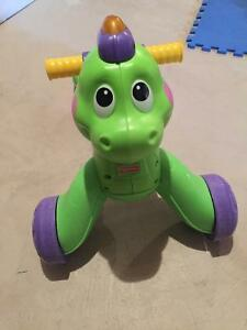 Fisher Price Stride to Ride Dino Walker