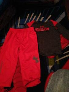 Toddler under armour outfit (boys)