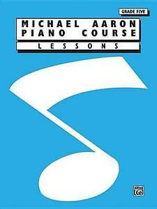 AARON - Piano Course: Lessons 5º, New, AARON Book