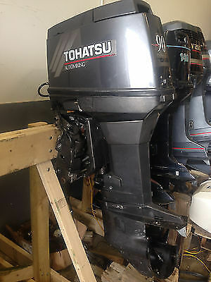 2005 Tohatsu 90 Hp Olptt Outboard Motor In Hayling