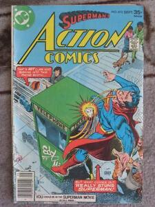 Superman's Action Comics #475 – DC Comics
