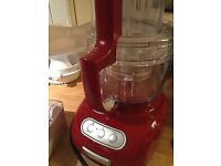 Boxed KitchenAid Food Processor. Model 5kfpm775