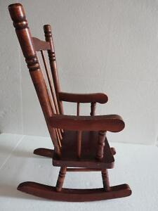 Wooden decorative rocking chair for display decor purpose London Ontario image 2