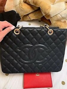 Chanel GST tote designer bag