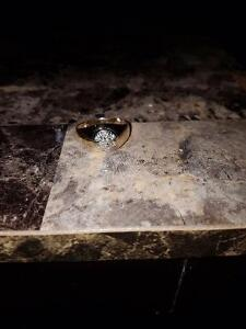 Nice man's gold ring for sale or trade