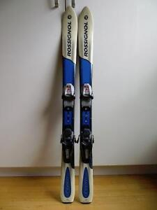 Rossignol Kids Parabolic Skis - 110 cm. - with Marker Bindings