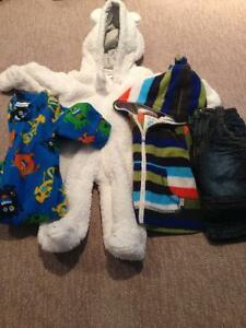 0-3 month boys fall clothes