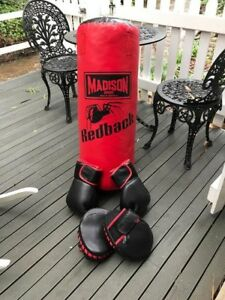 BOXING BAG AND GLOVES Aldgate Adelaide Hills Preview