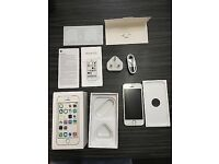 iPhone 5s 16 gig silver