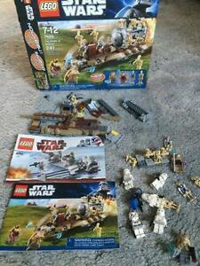 Lego Star Wars battle of naboo+extra minifigures.