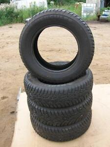 Set of 4 hercules winter tires 175/70r14 reference 6
