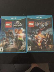 Deux jeux Lego
