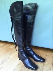 Sergio Rossi Over-The- Knee boots, size 11 US.
