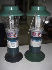2 Coleman Lanterns with Full Tank, $25 each