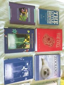 Various Textbooks for sale