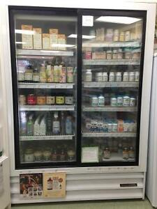 Sliding Glass Door Cooler for Retail or Industrial