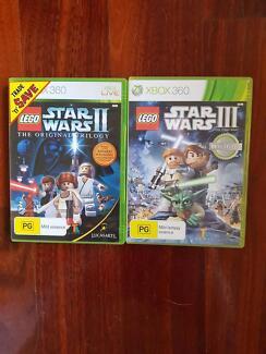 "***LOOK!!*** 2 XBOX ""LEGO STAR WARS"" GAMES"