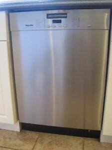 """Miele Stainless Steel Dishwasher - 24"""""""