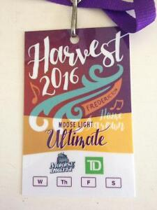 Selling harvest jazz and blues ultimate pass